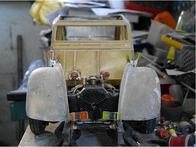2CV CITROEN AZ 1956 build from scratch, Scale 1/6-3333-jpg