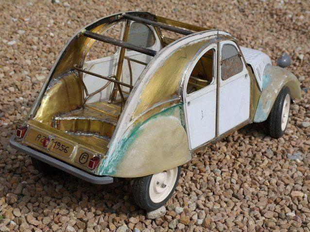 2CV CITROEN AZ 1956 build from scratch, Scale 1/6-7777-jpg