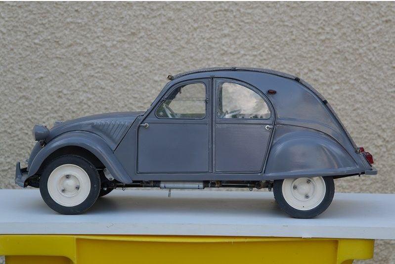 2CV CITROEN AZ 1956 build from scratch, Scale 1/6-5555-jpg