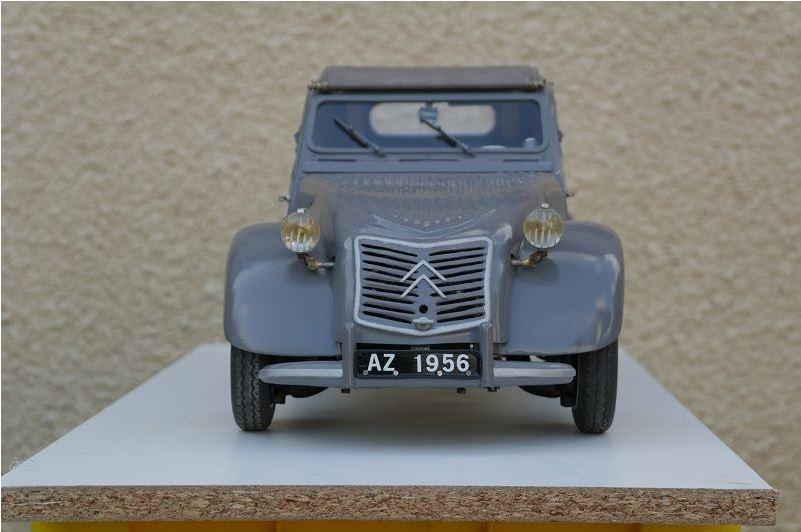 2CV CITROEN AZ 1956 build from scratch, Scale 1/6-6666-jpg