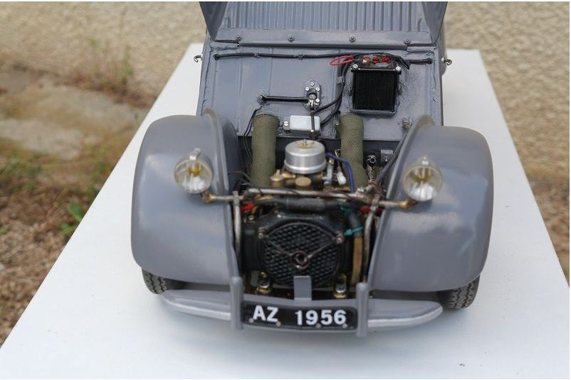 2CV CITROEN AZ 1956 build from scratch, Scale 1/6-1111-jpg