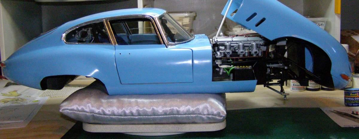 1964 Jaguar E-Type (XKE) 1/8 Monogram-11-finnished-soon-jpg