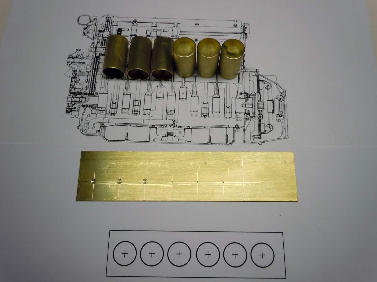 Brass Build 1962 Jaguar XKE Roadster-xke-engine-001-jpg