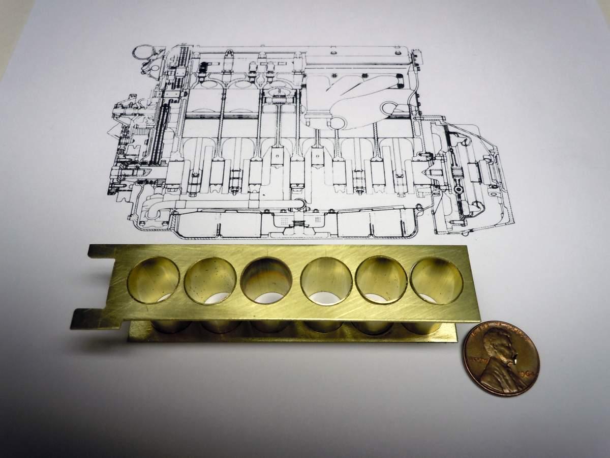 Brass Build 1962 Jaguar XKE Roadster-xke-engine-005-jpg