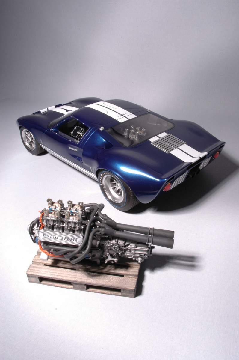 1/8 scale scratch built Ford GT40 Mk1-gt40mk1_w_eng_7-jpg
