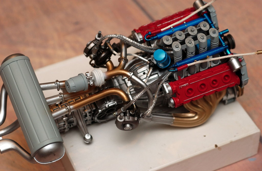 Pocher Ferrari F40 Engine Collection 7 Wallpapers
