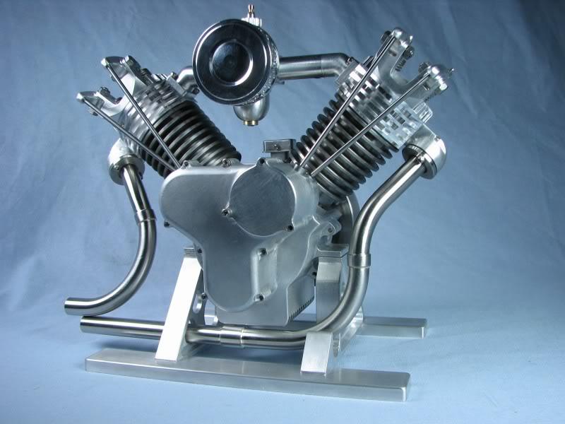V-twin engine (my own design)