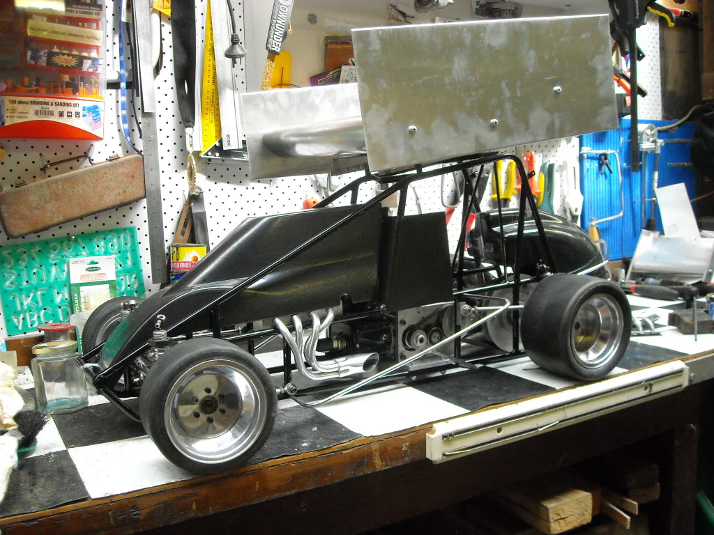 My 1/4 scale speedway cars.....