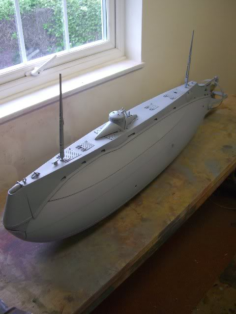 Large Rc Model Submarines