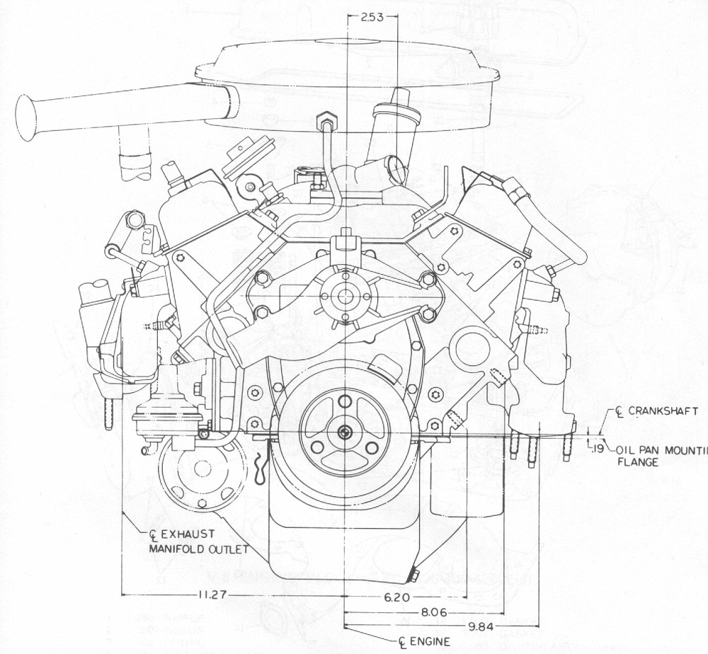 Small Block Chevy Engine Drawing Small Engine Problems And Solutions
