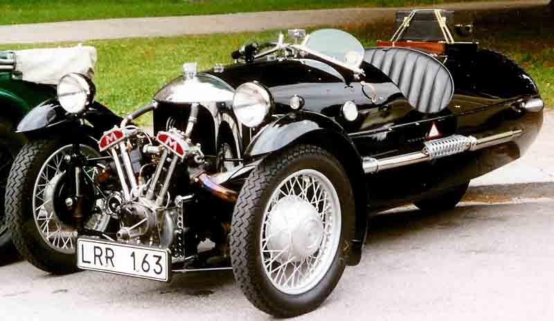 Morgan Sports car for steam