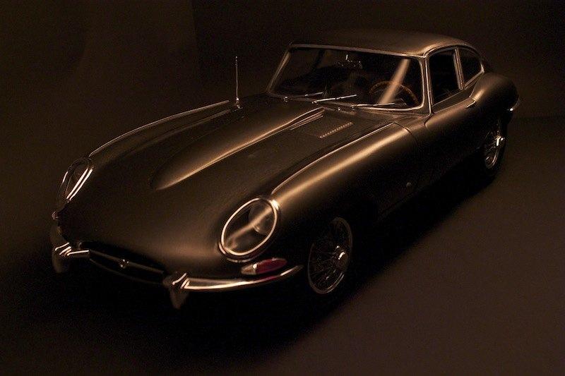 Jaguar_E-Type_Model_Scale_1:8_Front_above