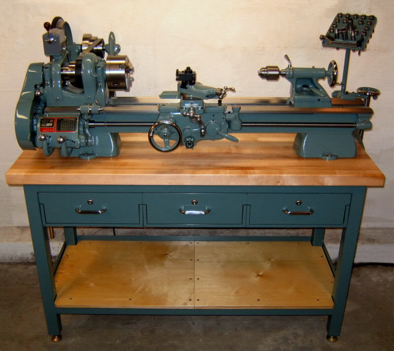 South Bend 9A Lathe - ScaleMotorcars.com Members Gallery