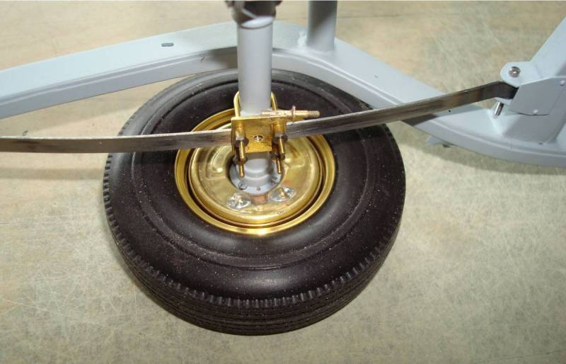 Rear brake shield
