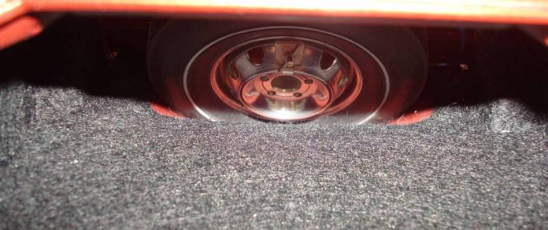Secured wheel