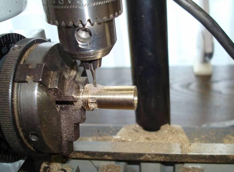 Milling indentations
