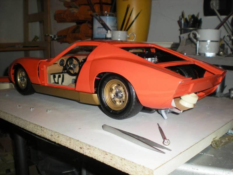 Kit Lamborghini Miura SV 1/8 Modelrossi