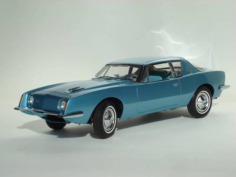 The completed Avanti model