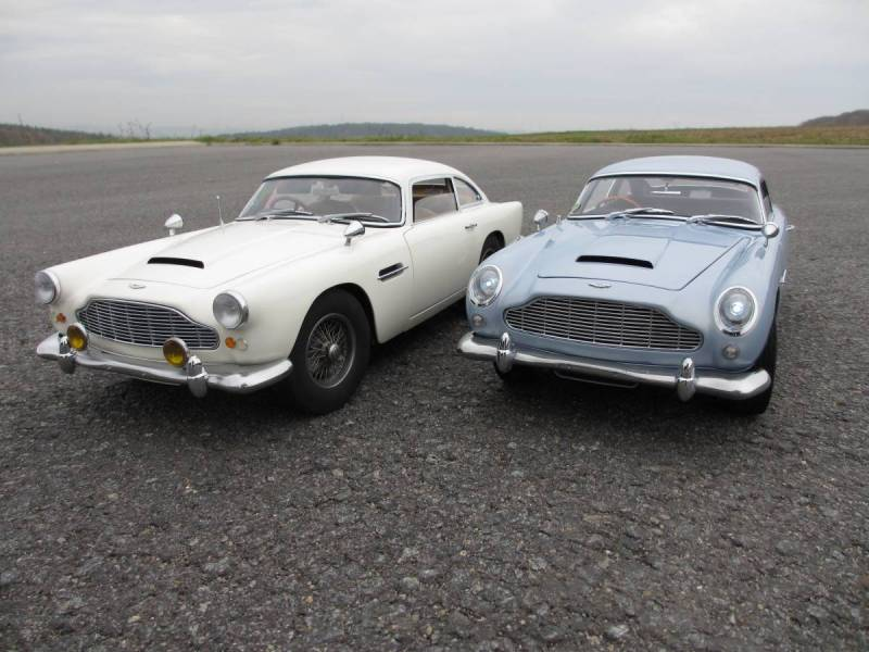 Aston Martin DB Serie Scale - Build your own aston martin
