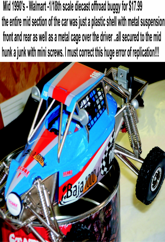 offroad diecast racer detailed