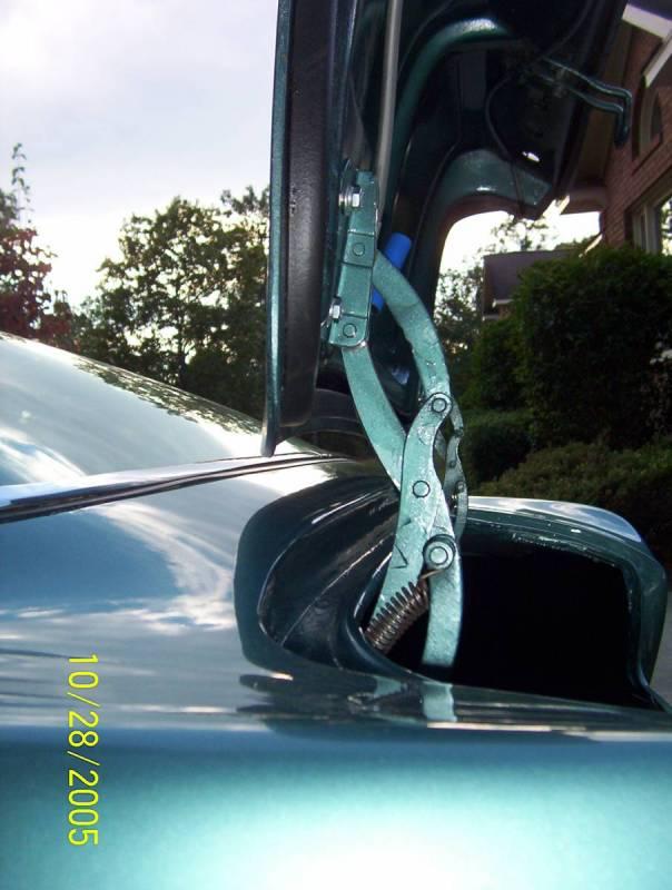 real trunk hinge