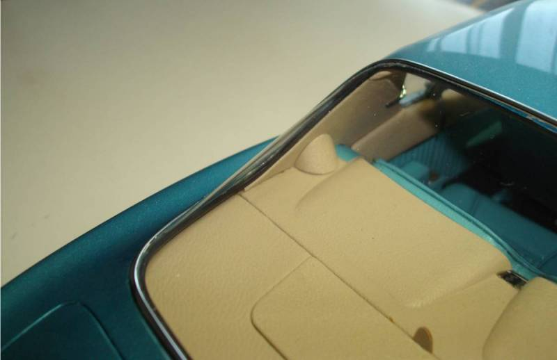 Fuel tube cover on Avanti model