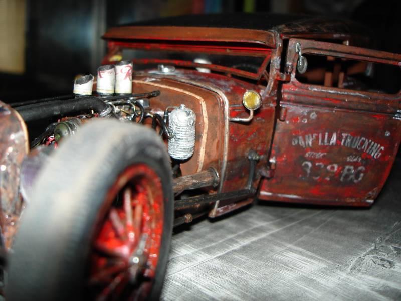 1931 Model A sedan rat rod