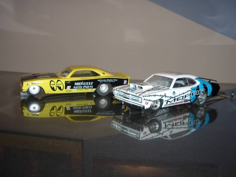 more of my drag cars