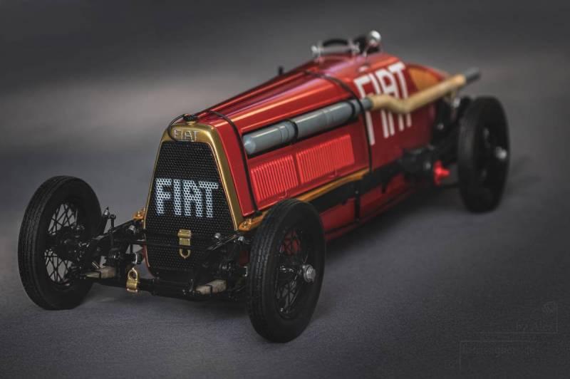 Fiat Mefistofele Protar + Italeri