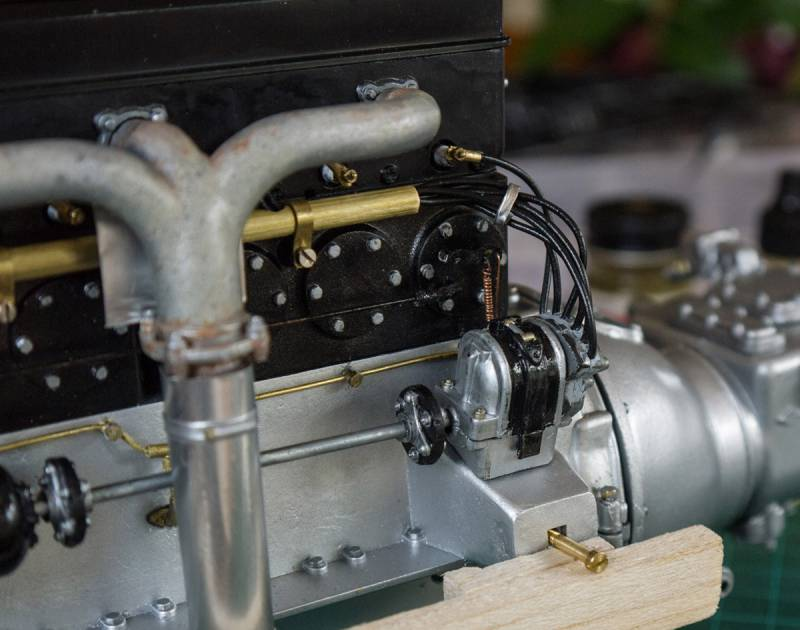 Rolls Royce engine build