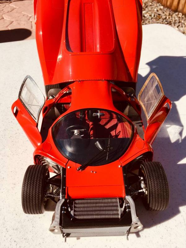 Model factory hiro Ferrari P4