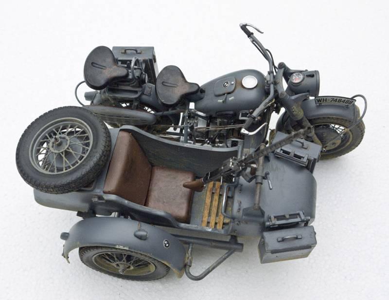 WW2 BMW with sidecar