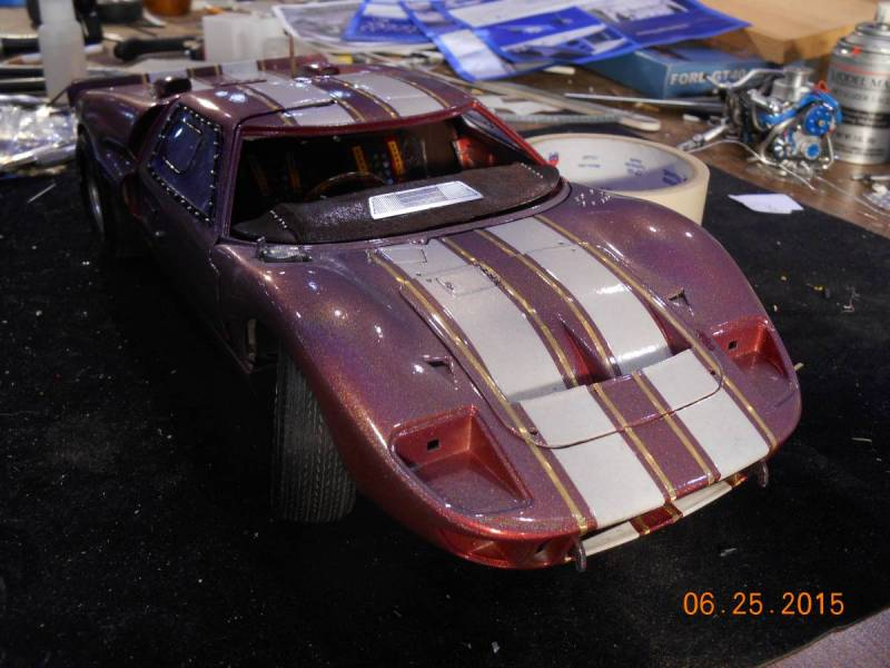 1/12 scale Trumpeter Ford GT 40