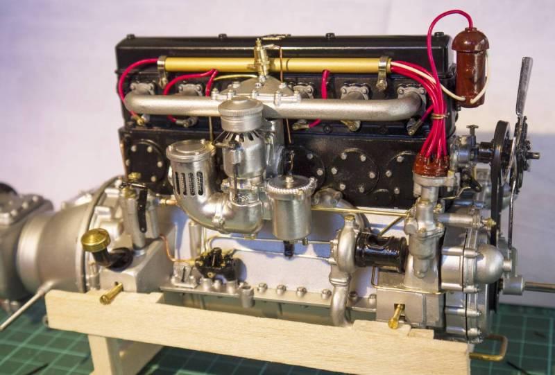 Rolls engine complete