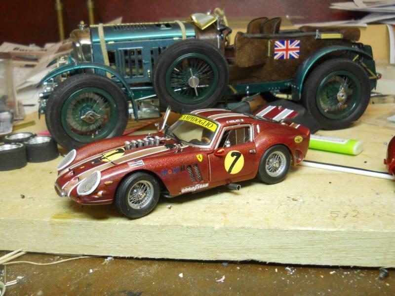 1962 Ferrari 250 GTO & 1930 Blower Bentley