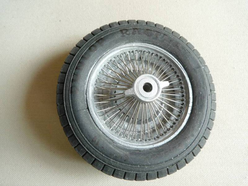 1/16th scale  Bugatti Type 59 Wheel  By Noel Smith