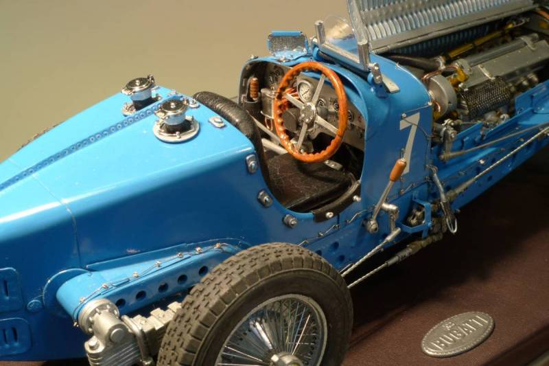 1/16th scale Bugatti Type 59 by Noel Smith