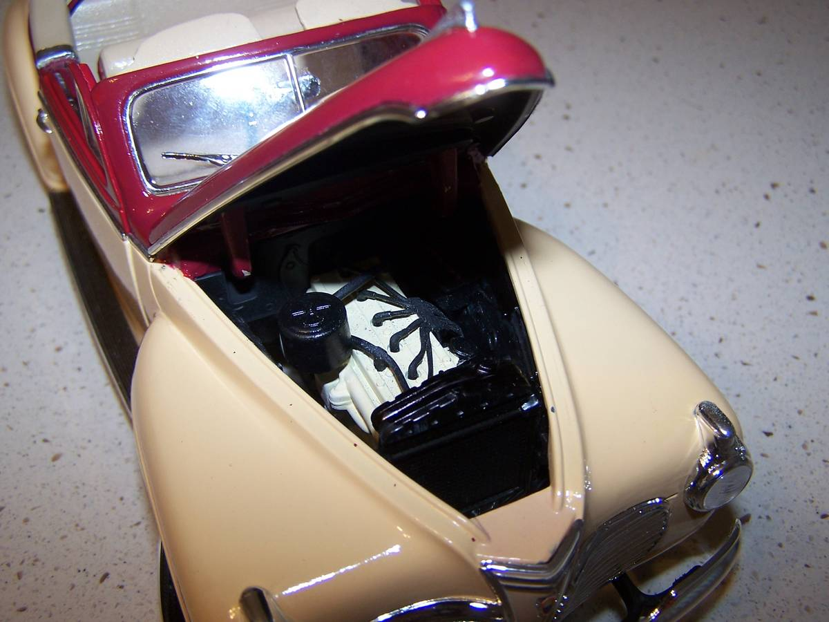 1941 Plymouth Convertable - ScaleMotorcars.com Members Gallery