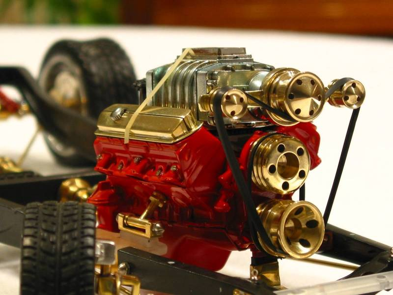 "1/8"" scale 1932 Ford Hot Rod Chassis"
