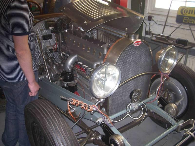 Bugatti model T 46
