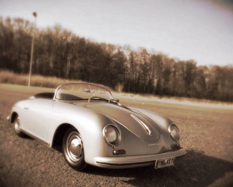 Porsche 356A Speedster 1/8