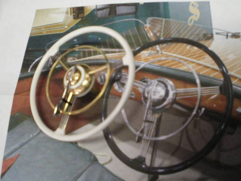 Scratch built 1/8 scale steering wheel