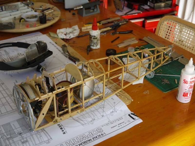 Large scale Model Aircraft, Sopwith Camel
