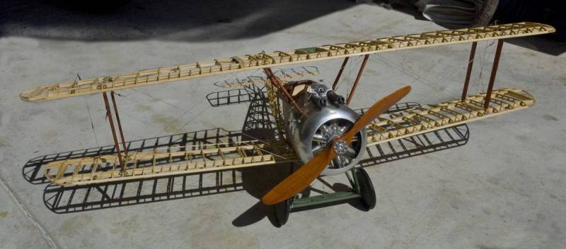 Completed Sopwith Camel, Hasegawa