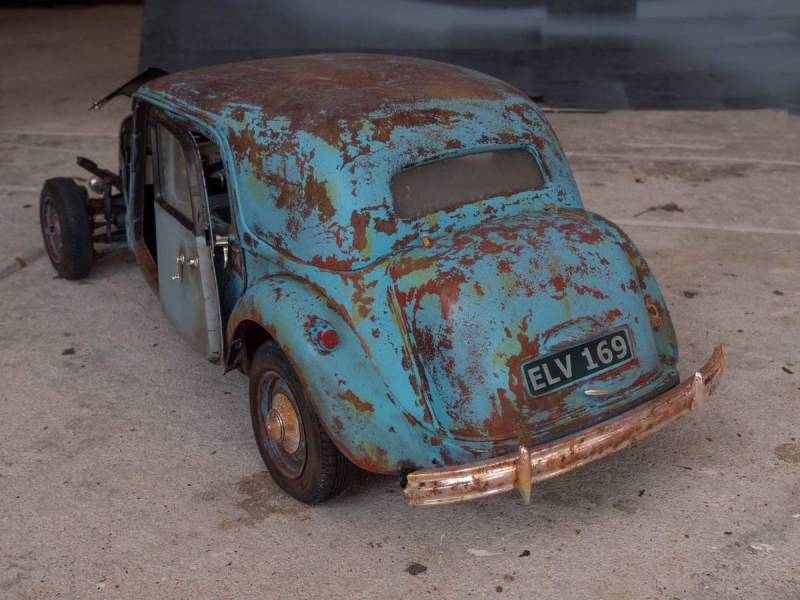 Rusty Citroen Traction Avant