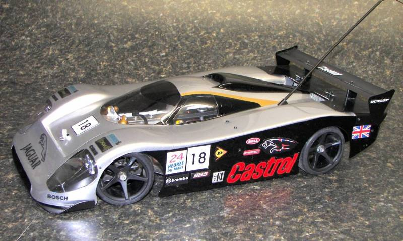 1/8 On Road home built electric pan car with bodies
