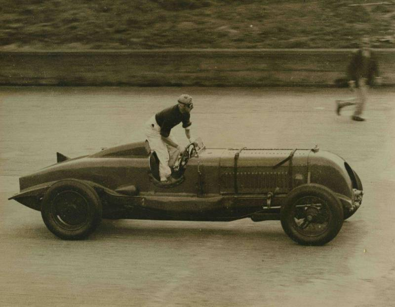 Bentley Single Seater period photos