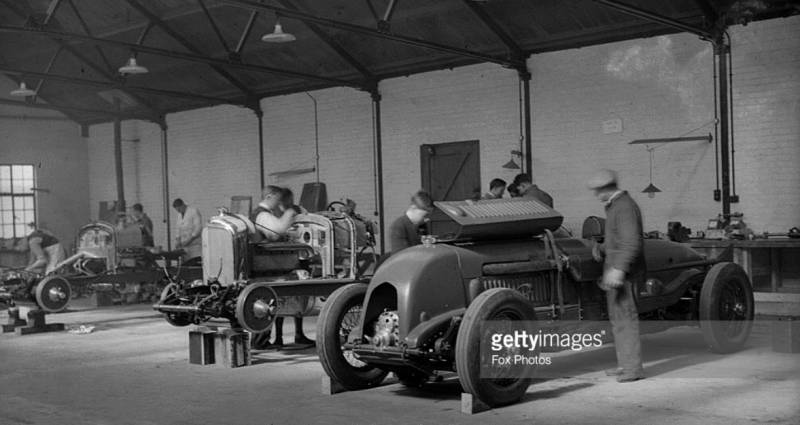 Bentley Single Seater period photos